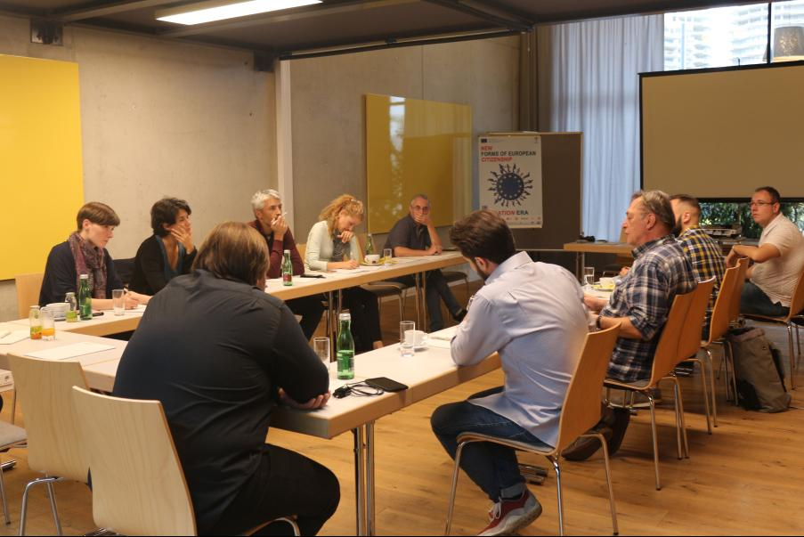 New forms of European citizenship in migration era  Meetings